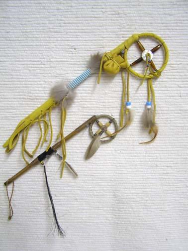 Navajo Made Medicine Man Sticks