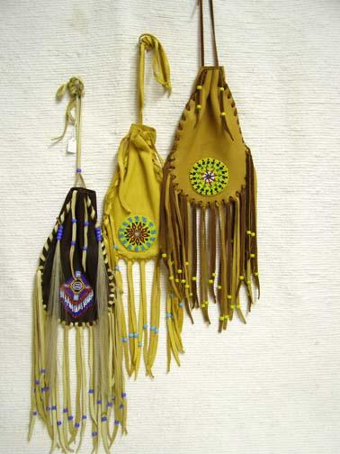 Native American Large Corn Bag