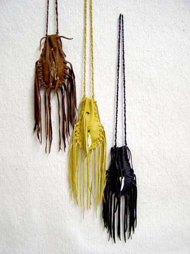 Native American Large Hourglass Bags